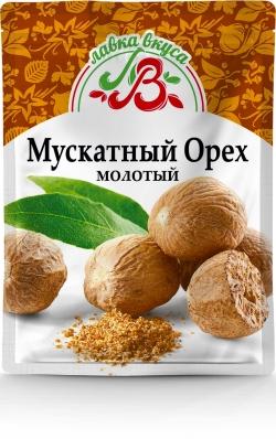 Мускатный орех молотый 15 г