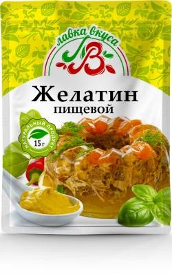 Желатин пищевой 15 г