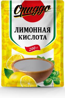 Лимонная кислота 200 г