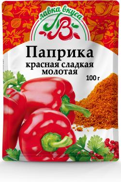 Паприка красная сладкая молотая 100г
