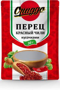 Перец красный молотый  кусочками ЧИЛИ 30 г