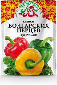 Смесь болгарских перцев  (кусочками) 50 г
